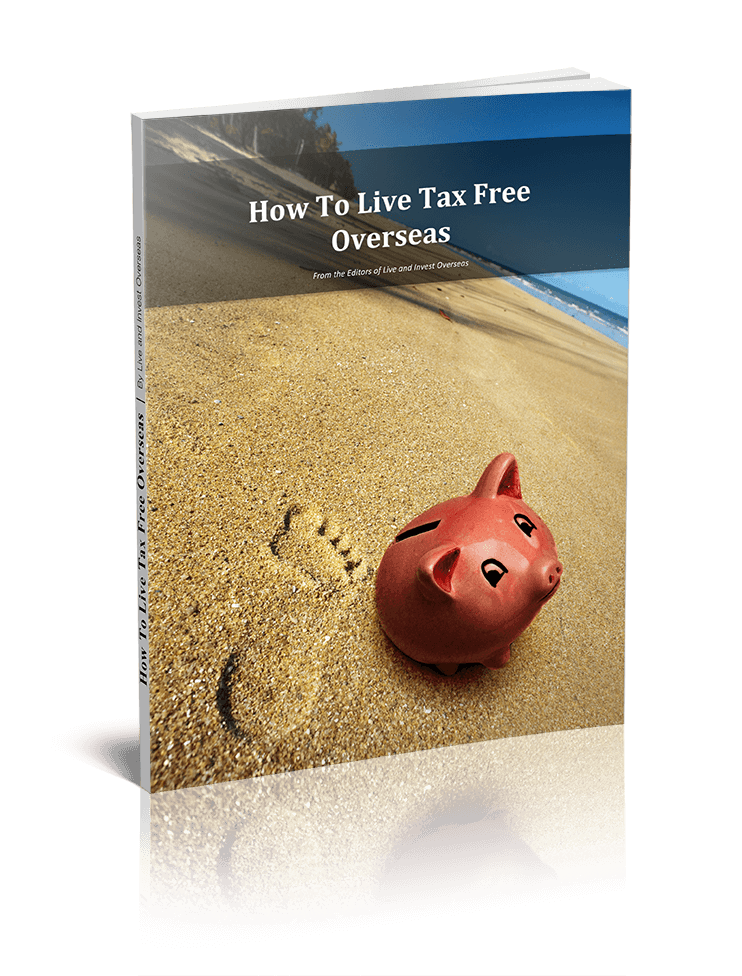 A report cover showing a piggy bank on the beach.
