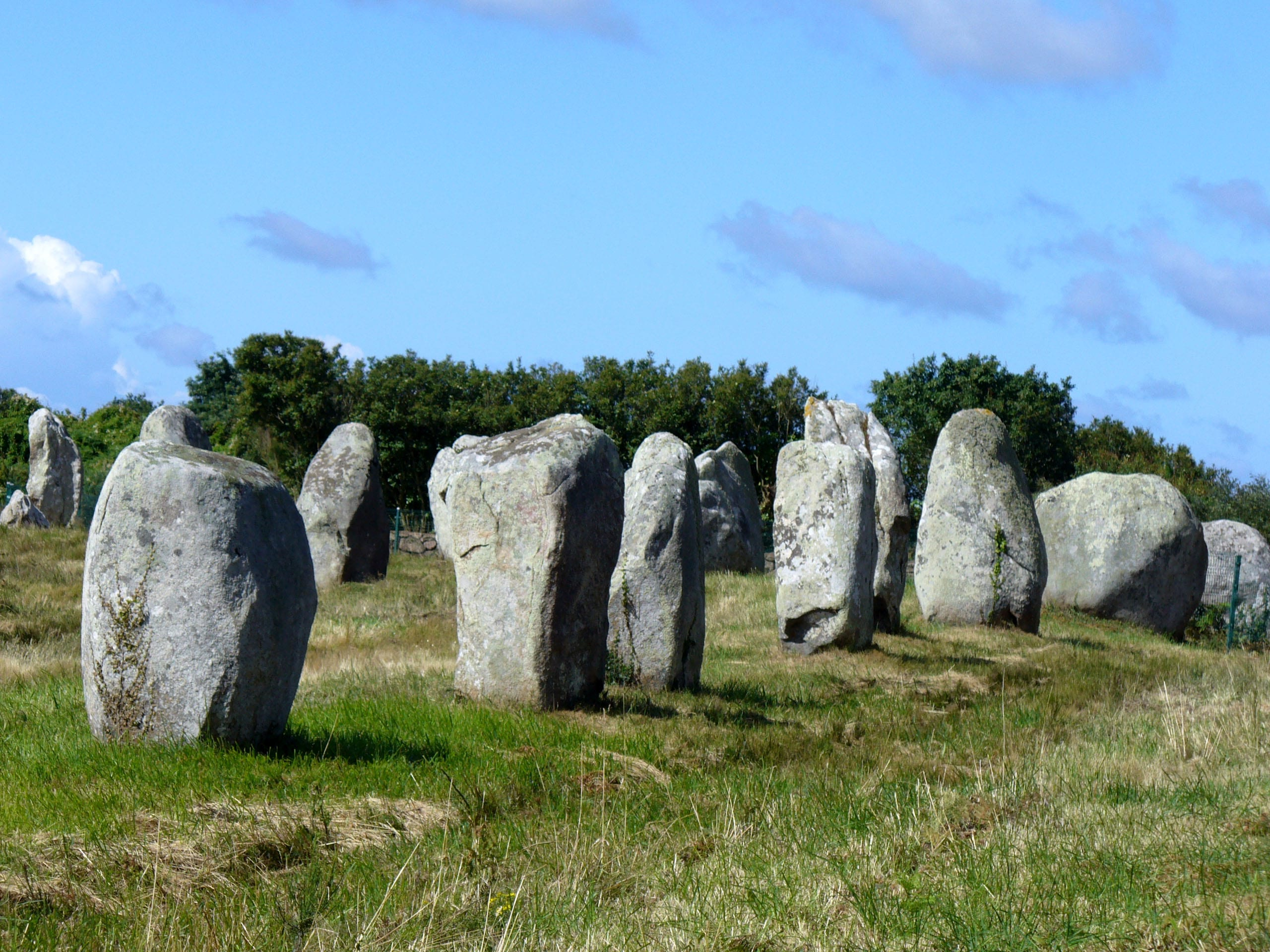 Group of monoliths in Carnac