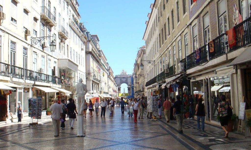 Rua Augusta, Lisbon Portugal