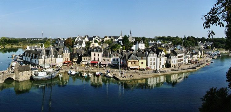 The town of Morbihan is a department in Brittany, situated in the northwest of France