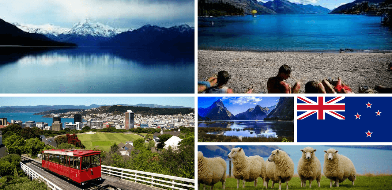 gallery of images of New Zealand