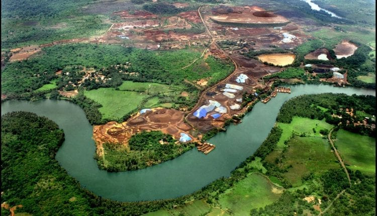 aerial view of goa, india