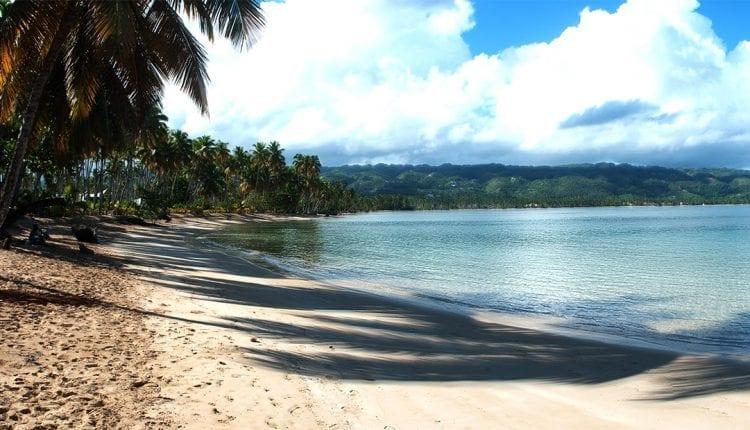 Beautiful caribbean beach in Las Terrenas