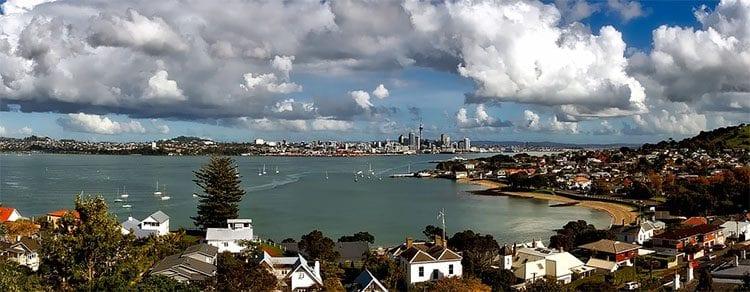 a coastal city in new xealand
