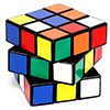 a colorful rubiks cube with its levels twisted