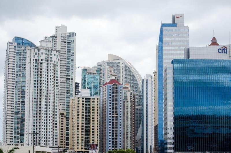 Punta Pacifica buildings in downtown Panama City, Panama.