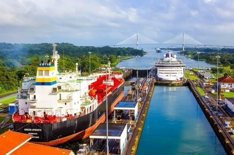 Panama Canal, Panama.