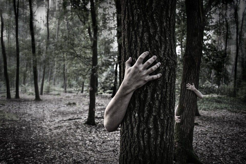 Zombie in Woods