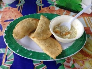 Belize Fish Panades
