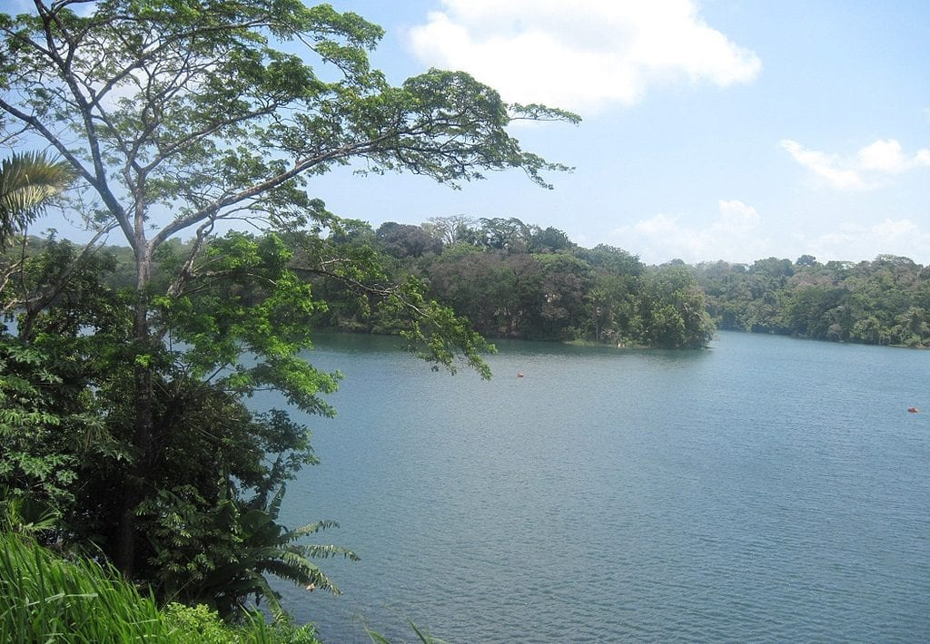 Lake Gatun Panama