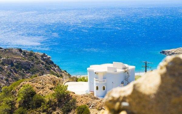 Crete house on the Mediterranean