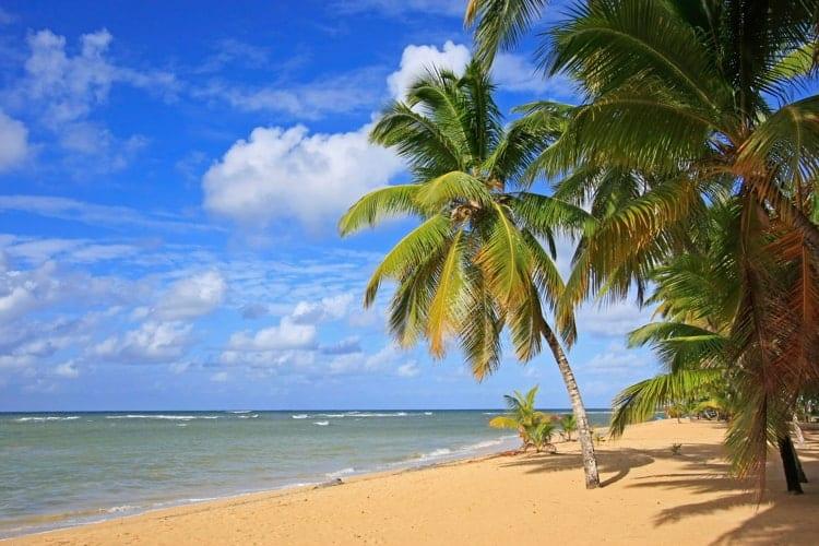 Las Terrenas beach, Samana Peninsula, Dominican Republic.