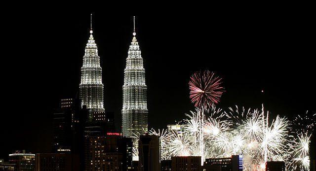 Malaysia Fireworks