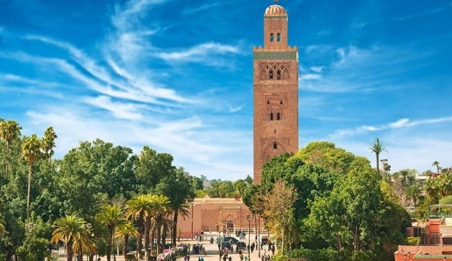 The square in Marrakesh, Morocco. Best places to honeymoon