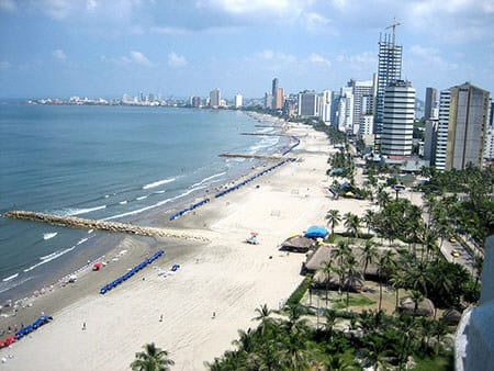 Cartagena Beach Colombia