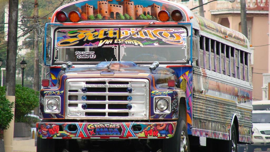 Diablo Rojo Bus, Panama