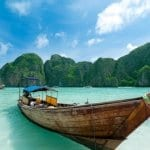 Traditional Boat In Phuket Thailand