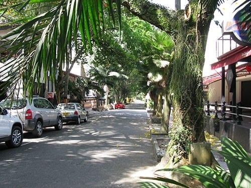 El Poblado Colombia Shady Street