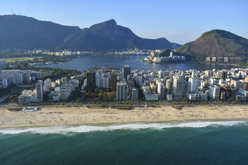 Beach condo in Brazil