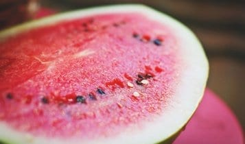close up picture of a watermelon