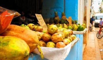 fruit market El Valle de Antón