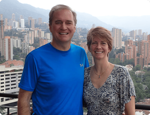 wendy and darren in medellin