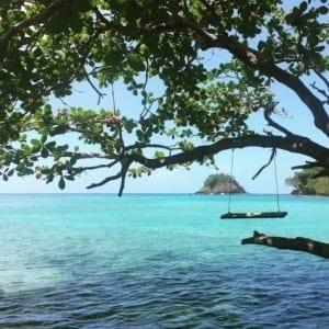 portabello beach on the caribbean panama
