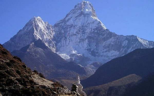 Mount Everest, Nepal. One of the natural wonders of the world