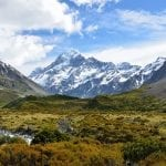 Mount Cook from a distance