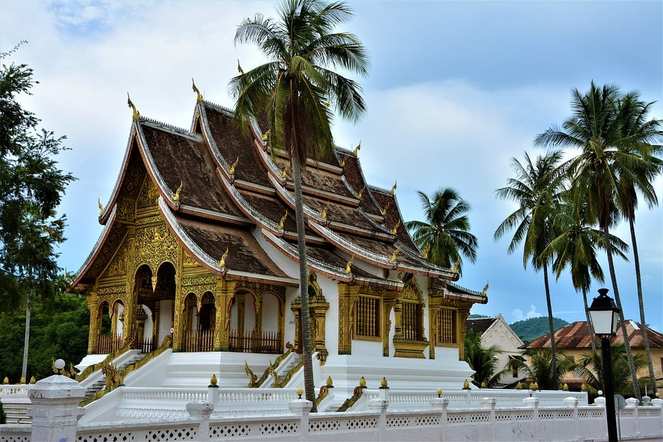 A Buddhist temple in Laos