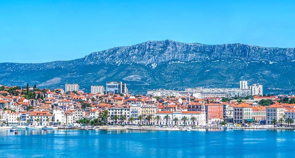 Shoreline in Croatia