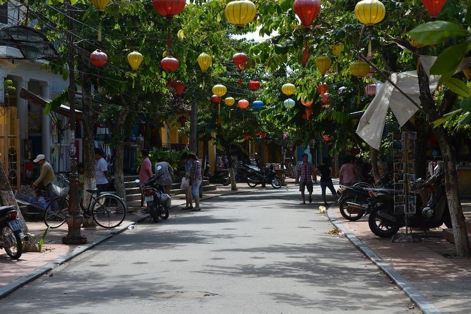 Hoi An lantern street