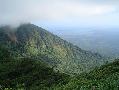 Mombacho Volcano in Managua, Nicaragua