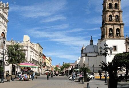 Calle Constitución, Durango