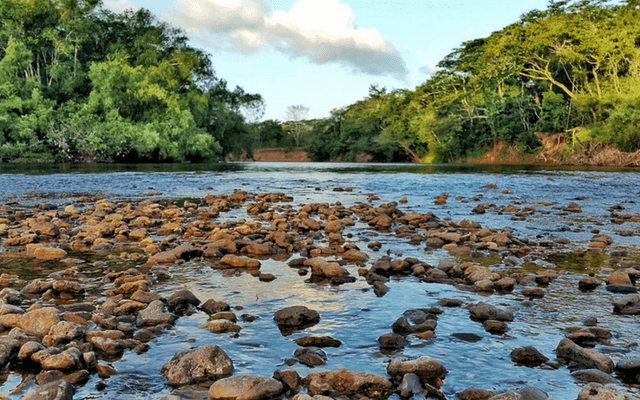 A river in Belize