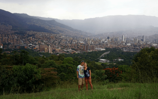 Hiking in the Medellin hills