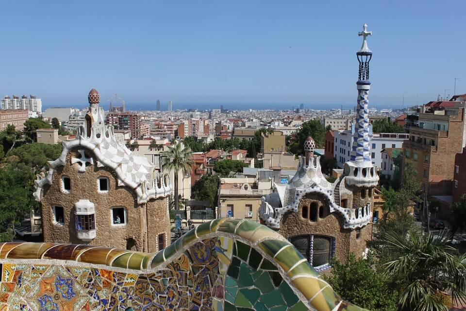 Parc Guell Gaudi Barcelona