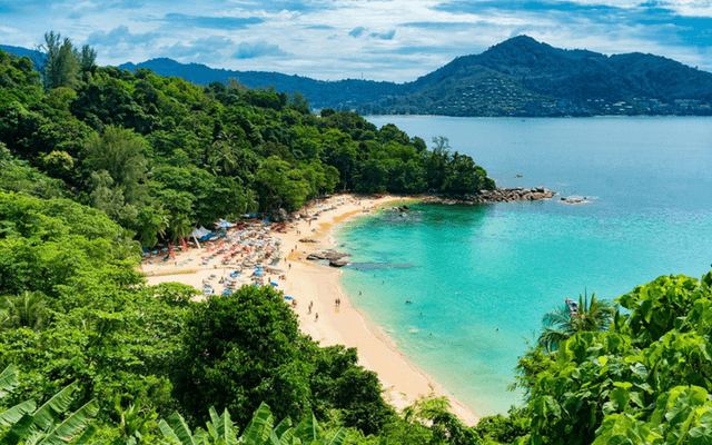 A beach in Phuket, Thailand