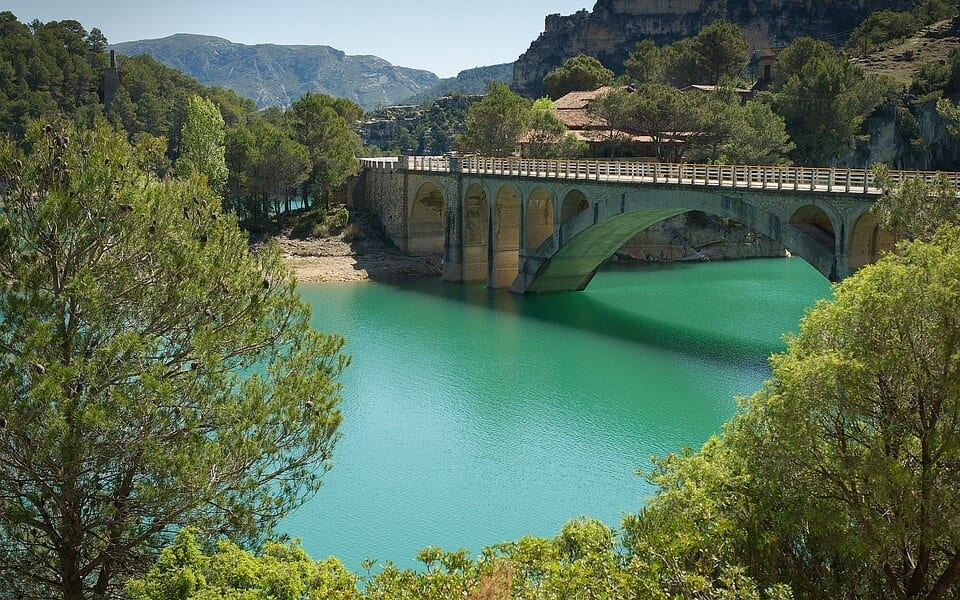 Sapin bridge La Fou
