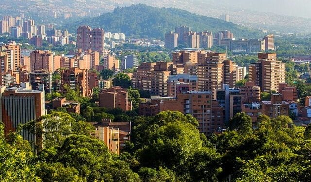 Medellin, Colombia. One of the cheapest countries to buy real estate