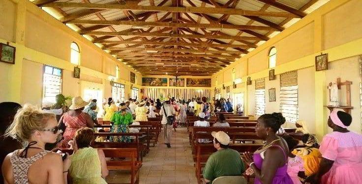 Garifuna mass at Hopkins