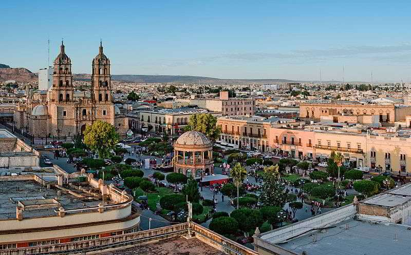 Plaza de armas Durango