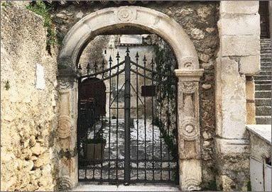 ancient town of popoli, abruzzo