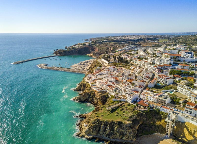 the algarve in portugal. best places to Retire