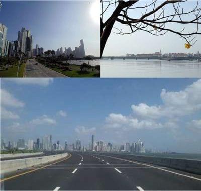 empty streets and empty city