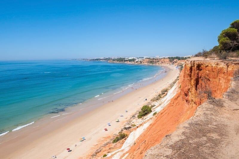 Praia da Falesia, Portugal