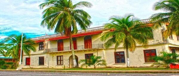 Bocas Governor's palace