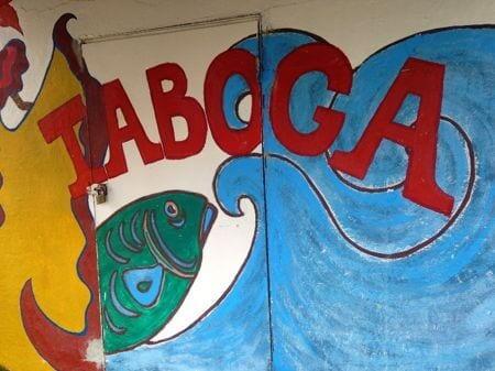 taboga sign