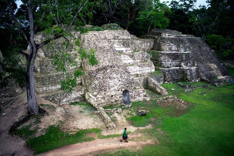 The ruins of Xunantunich—one of the most impressive Maya ruins in Belize