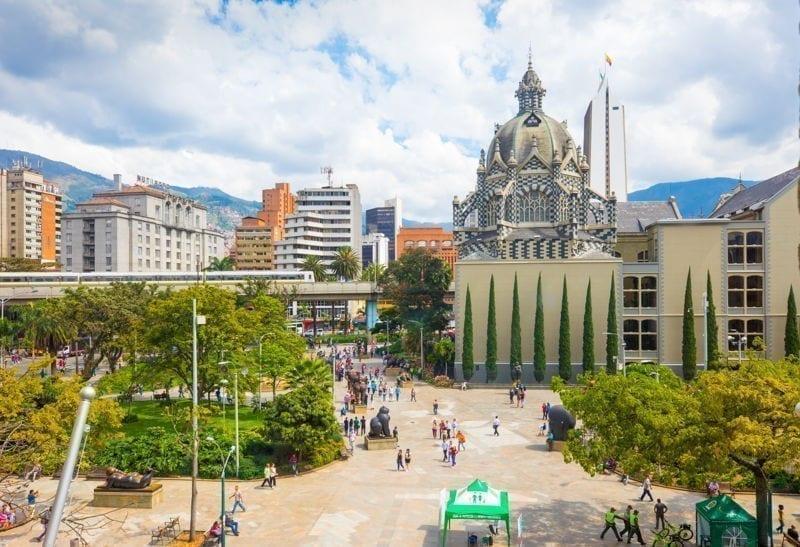 park in medellin colombia